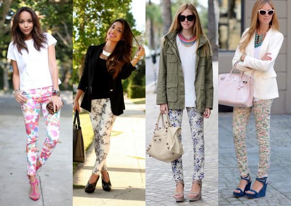 pantaloni-cu-imprimeuri-florale-