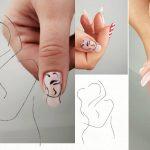 line art nail art professionals